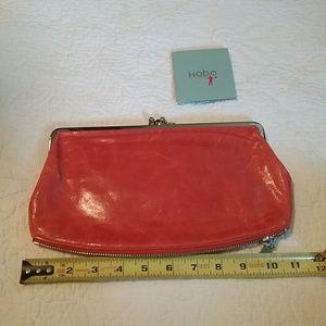 Hobo International leather  wallet/clutch.